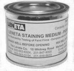 ST-1 Leneta-ASTM Staining Medium, Pigmented Type