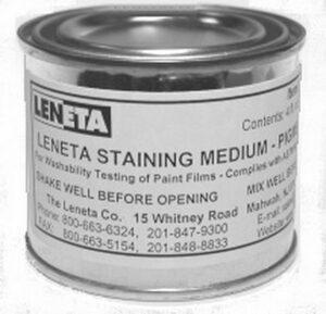Leneta-ASTM Staining Media